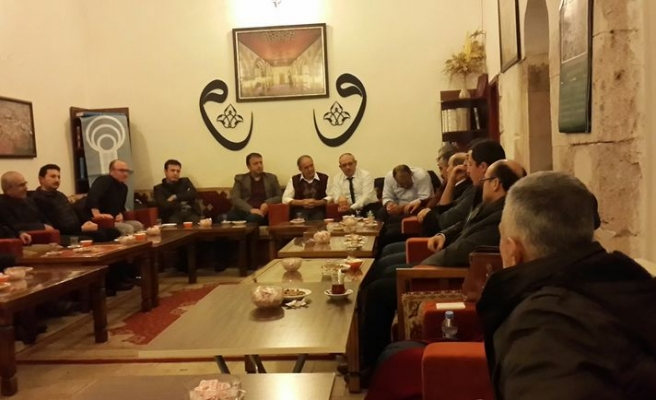 Ali Erkan Kavaklı Tokat'taydı