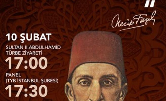 Sultan II. Abdülhamid TYB'de konuşulacak