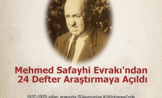 Mehmed Safayhi evrakı araştırmaya açıldı