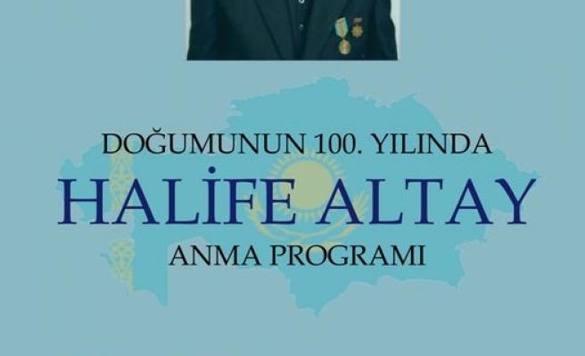Doğumunun 100. Yılında Halife Altay
