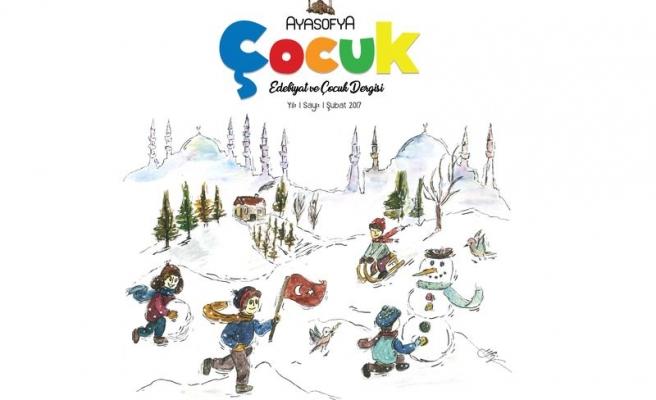 Ayasofya çocuk dergisinin ilk sayısı çıktı