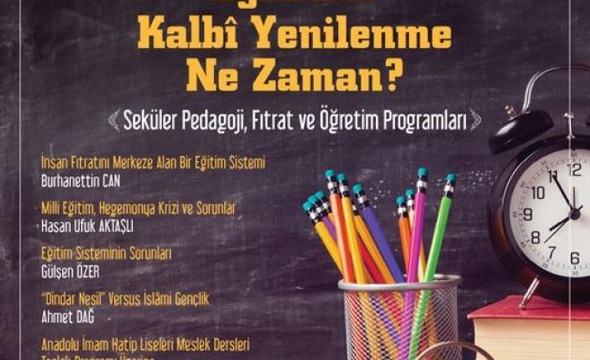 Umran dergisi soruyor: Eğitimde Kalbî Yenilenme Ne Zaman?