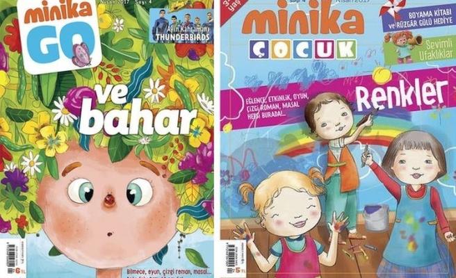 MinikaGo ve minikaÇocuk dergilerinin 4. sayıları çıktı