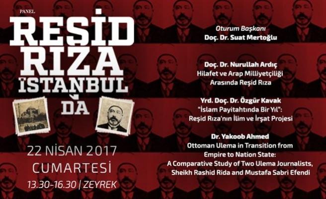 Reşid Rıza İstanbul'da