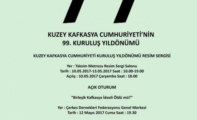 Kuzey Kafkasya Cumhuriyeti'nin 99. kuruluş yıldönümü