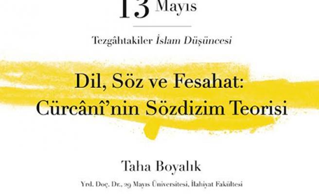 Cürcânî'nin Sözdizim Teorisi