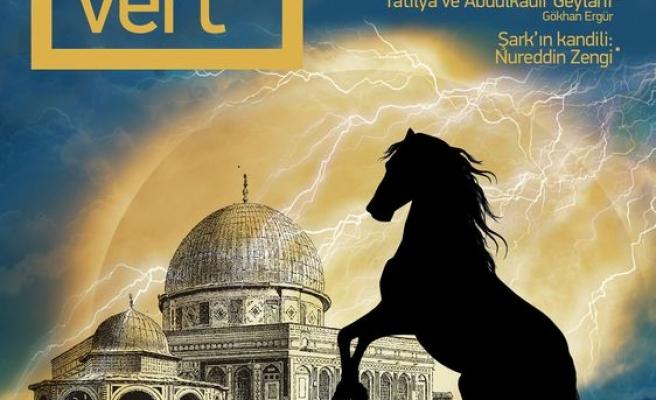 Lacivert dergisinden Kudüs dosyası