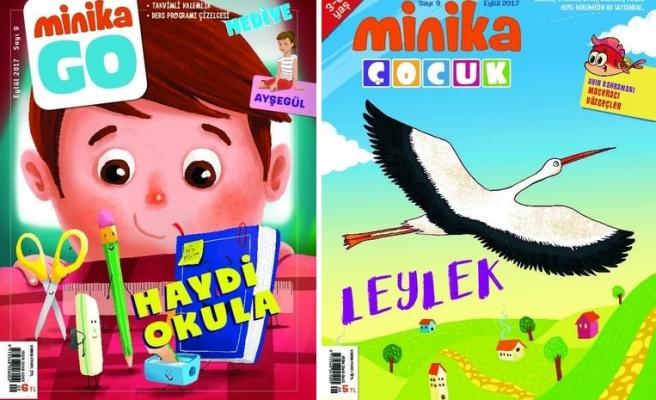 MinikaGO ve minikaÇocuk dergilerinin 9. sayıları çıktı