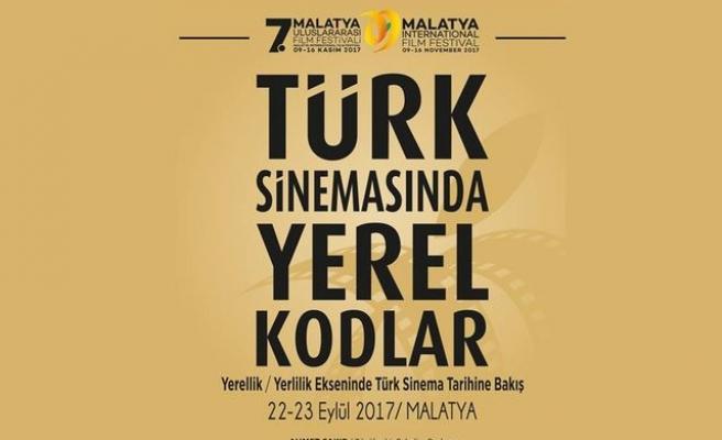 Malatya'da Türk Sinemasında Yerel Kodlar sempozyumu