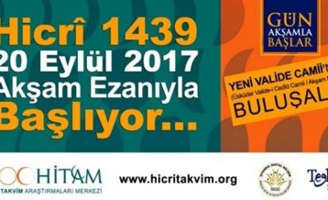 1439 Hicri Yeni Yıl etkinlikleri Üsküdar'da