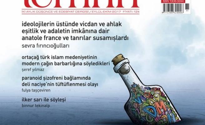 Temrin dergisinin 85. sayısı çıktı