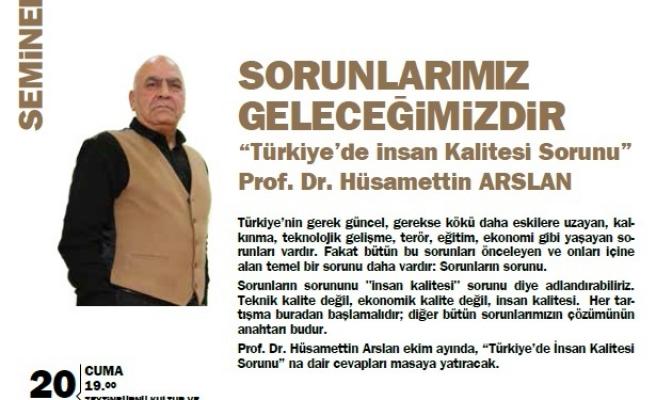 Türkiye'de İnsan Kalitesi Sorunu