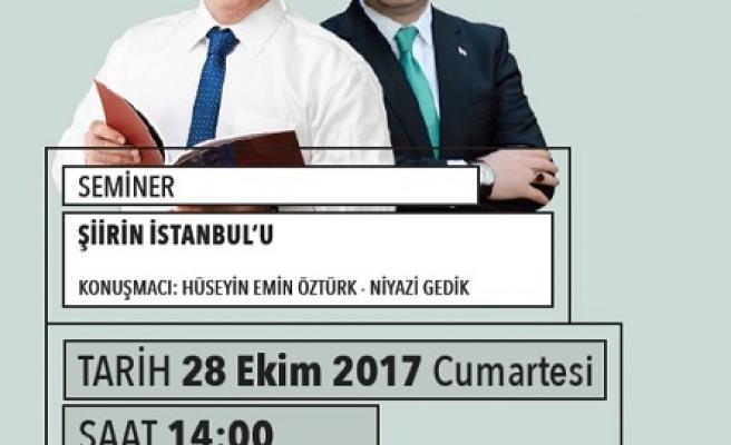 Şiirin İstanbul'u