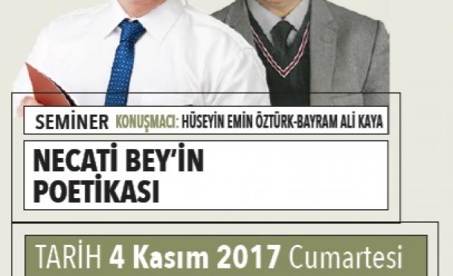 Necati Bey'in Poetikası