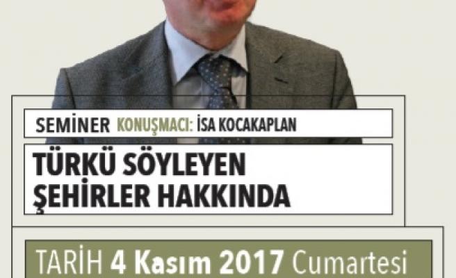 Türkü Söyleyen Şehirler Hakkında