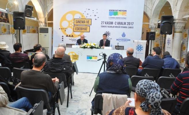 İstanbul Edebiyat Festivali'nde sinema ve edebiyat konuşulmaya devam ediyor