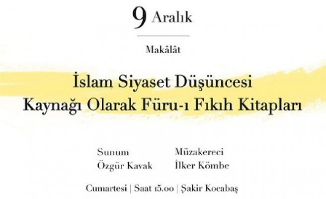 İslam Siyaset Düşüncesi Kaynağı Olarak Füru-ı Fikıh Kitapları