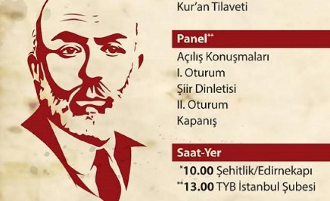 Mehmed Âkif TYB İstanbul'da anılacak
