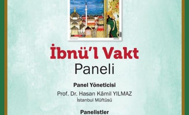 İbnü'l Vakt paneli