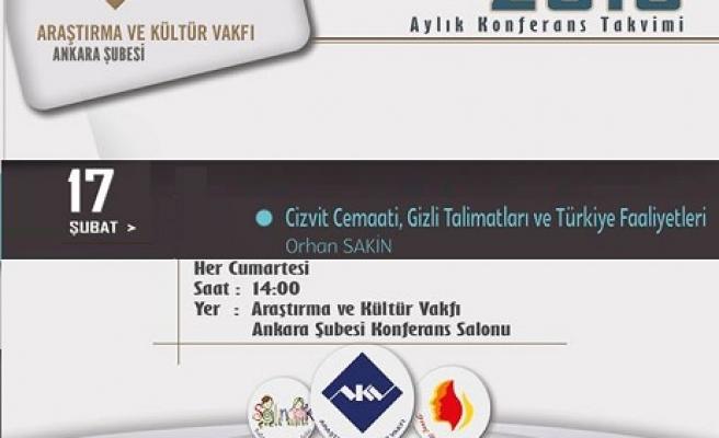 Cizvit Cemaati, Gizli Talimatları ve Türkiye Faaliyetleri