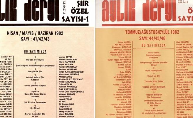 Edebiyat Tarihine Bir Dipnot: Aylık Dergi Şiir Özel Sayısı