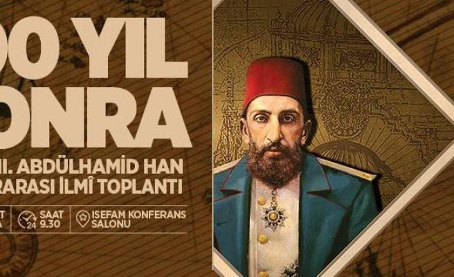 Abdülhamid Han vefatının 100. yılında anılacak