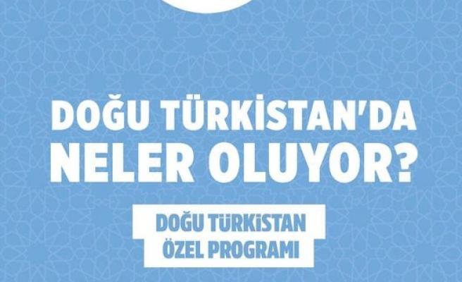 Doğu Türkistan konuşulacak