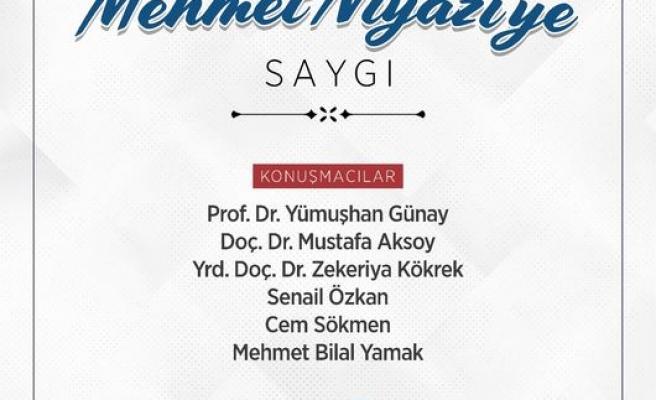 Mehmed Niyazi'ye Saygı