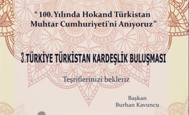 3. Türkiye-Türkistan Kardeşlik Buluşması