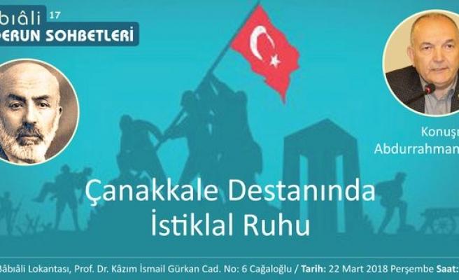 Çanakkale Destanında İstiklal Ruhu