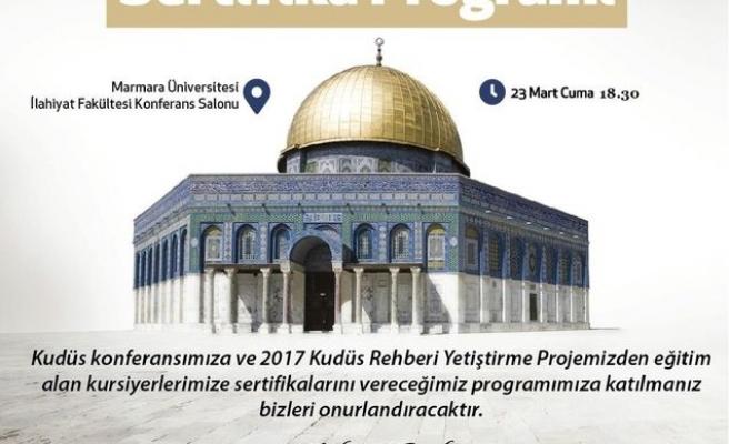 Kudüs Rehberi Yetiştirme Projesi