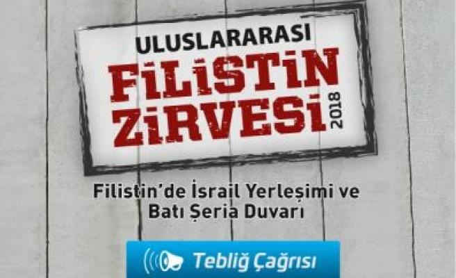 İstanbul'da Uluslararası Filistin Zirvesi