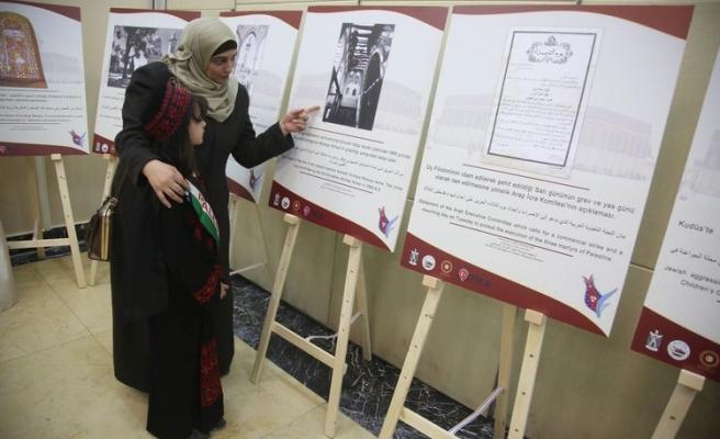 Kudüs'te Gayrimüslimlere Verilen Haklar sergisi