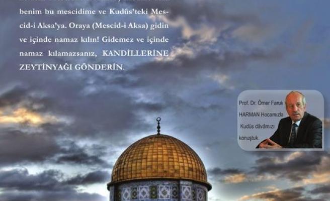 Kardelen dergisinden Kudüs dosyası