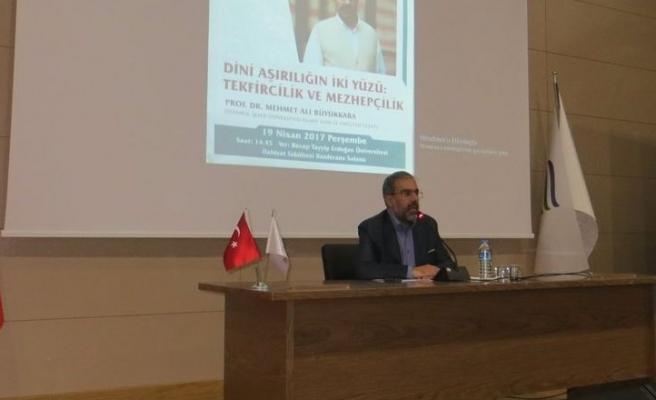 Mehmet Ali Büyükkara Tekfircilik Üzerine Konuştu