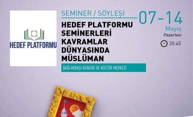 Kavramlar Dünyasında Müslüman semineri