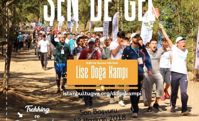 TÜGVA'dan Liseliler İçin Doğa Kampı