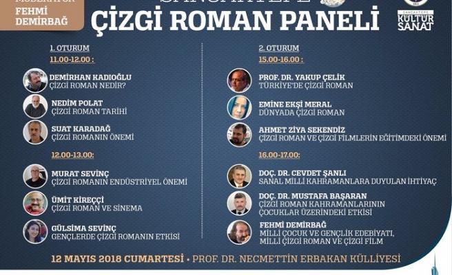 Sancaktepe'de Çizgi Roman Paneli