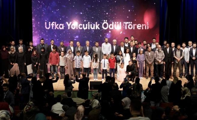 Ufka Yolculuk Yarışması'nda Dereceye Girenler Ödüllerini Aldı