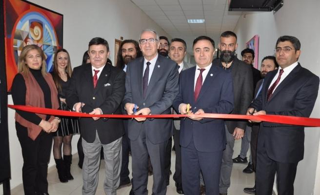 Kastamonu'da Uluslararası Posta Sanatı Sergisi Açıldı