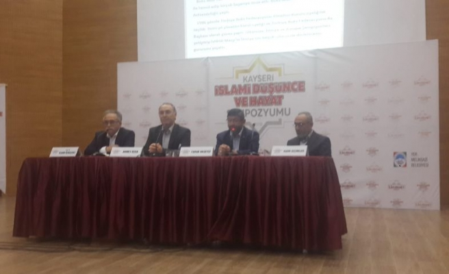 Modernizmin Yereldeki Tahribatı Kayseri'de Konuşuldu