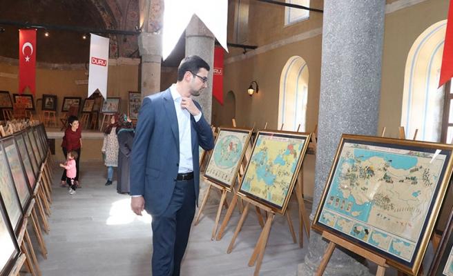 Karaman'da 'İlkokullar İçin Yardımcı Ders Afişleri' Sergisi Açıldı