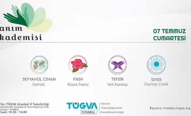 TÜGVA İstanbul'dan 15. Hanım Akademisi