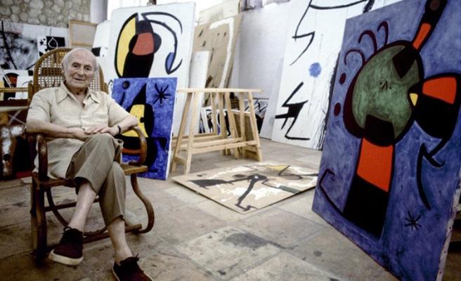 Joan Miro'nun Orjinal Eserleri Sanatseverlerle Buluşuyor