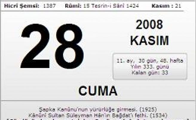28.11.2008 Cuma