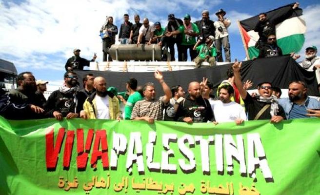 Gazze için pupa yelken!