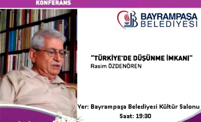 Rasim Özdenören İstanbul'da!
