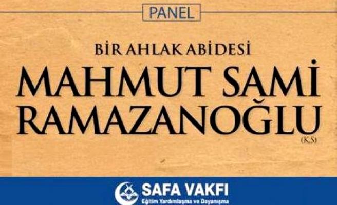 M. Sami Ramazanoğlu anılacak