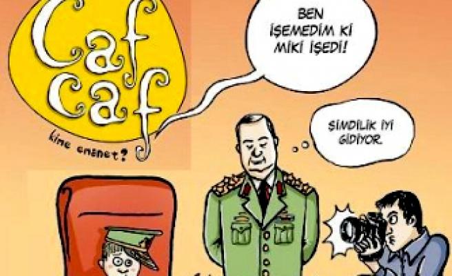 Cafcaf'ın 23 Nisan sürprizi: Miki!