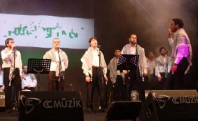 Ümraniye'de Filistin gecesi!